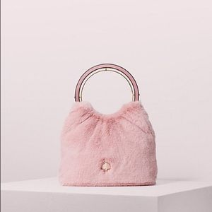 💯✅ Authentic Kate Spade Betty Faux Fur Handbag